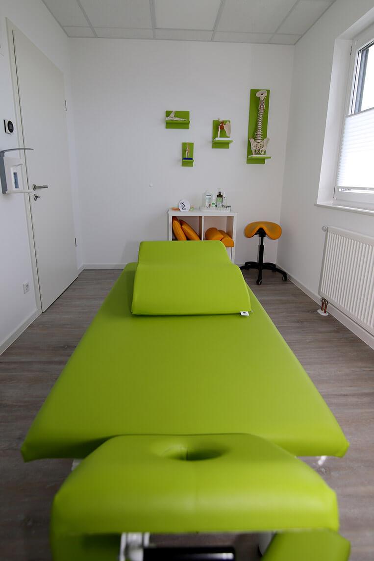 Barrierefreier Behandlungsraum